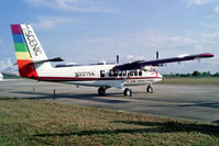 N227SA @ KEFD - N227SA   De Havilland Canada DHC-6-300 Twin Otter [517] (Scenic Airlines) Houston-Ellington Field~N 29/10/1991