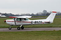 G-BSZO @ EGSH - Departing from Norwich.