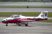 114033 @ KNKT - CAF CT-114 Tutor 114033 C/N 1033 from Snowbirds Demo Team 15 Wing CFB Moose Jaw, SK