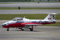 114050 @ KNKT - CAF CT-114 Tutor 114050 C/N 1050 from Snowbirds Demo Team 15 Wing CFB Moose Jaw, SK