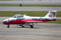 114054 @ KNKT - CAF CT-114 Tutor 114054 C/N 1054 from Snowbirds Demo Team 15 Wing CFB Moose Jaw, SK