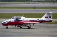 114058 @ KNKT - CAF CT-114 Tutor 114058 C/N 1058 from Snowbirds Demo Team 15 Wing CFB Moose Jaw, SK