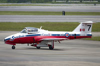114141 @ KNKT - CAF CT-114 Tutor 114141 C/N 1141 from Snowbirds Demo Team 15 Wing CFB Moose Jaw, SK