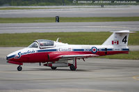 114145 @ KNKT - CAF CT-114 Tutor 114145  C/N 1145 from Snowbirds Demo Team 15 Wing CFB Moose Jaw, SK