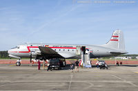N500EJ @ KNKT - Douglas C-54E-DC Skymaster  C/N 27370 - Berlin Airlift Historical Foundation, N500EJ