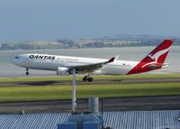 VH-EBR @ NZAA - lift off - by Magnaman