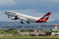 VH-EBR @ NZAA - see ya later - by Magnaman