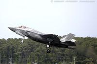 168059 @ KNKT - F-35B Lightning II 168059 VM-03 from VMFAT-501 Warlords MAG-31 MCAS Beaufort, SC