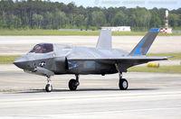 168060 @ KNKT - F-35B Lightning II 168060 VM-51 from VMFAT-501 Warlords MAG-31 MCAS Beaufort, SC
