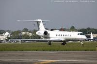 N345LC @ KFRG - Gulfstream Aerospace G-V-SP (G550)  C/N 5145, N345LC