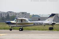 N757AD @ KFRG - Cessna 152 C/N 15279578, N757AD
