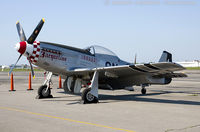 N51HR @ KFRG - North American P-51D Mustang  Jaqueline  C/N 122-31268, N51HR