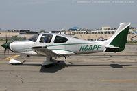 N68PF @ KFRG - Cirrus SR22  C/N 4021, N68PF