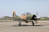 N2496 @ KFRG - North American T-28D Trojan  C/N 49-1496, N2496