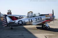 N9523C @ KFRG - North American AT-6C Texan Dazzlin' Deb  C/N 27293, N9523C