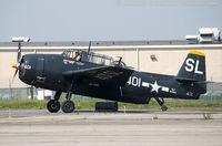 N9586Z @ KFRG - Grumman TBM-3E Avenger  C/N 85886, N9586Z