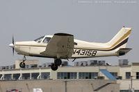 N43158 @ KFRG - Piper PA-28-151 Cherokee Warrior  C/N 28-7415435, N43158