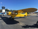 N30756 @ LVK - 1940 Piper J3C-65 Cub, c/n: 5091, 2018 Livermore Open House - by Timothy Aanerud