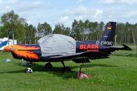 D-EWMC @ EDAN - D-EWMC   Zlin Z.42MU [0014] (Black Birds) Neustadt-Glewe~D 20/05/2006