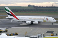 A6-EEU @ VIE - Emirates Airbus A380 - by Thomas Ramgraber
