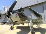 N91945 @ KEFD - Douglas AD4 / A-1D Skyraider at the Lone Star Flight Museum, Houston TX