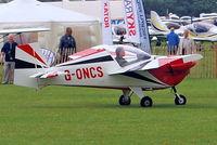 G-ONCS @ EGBK - G-ONCS   Tipsy T.66 Nipper III [PFA 1390] Sywell~G 04/09/2011