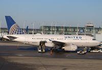 N830UA @ KORD - Airbus A319-131