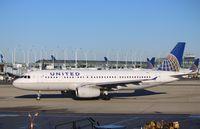 N452UA @ KORD - Airbus A320-232