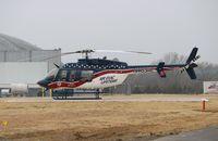 N485AE @ KADH - Bell 407