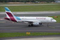 D-ABGR @ EDDL - Airbus A319-112 - EW EWG Eurowings ex. Air Berlin - 3704 - D-ABGR - 28.07.2017 - DUS - by Ralf Winter