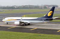 VT-JTL @ VABB - Taxiing out for departure.