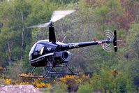 G-HIEL @ EGLK - G-HIEL   Robinson R-22 Beta [1120] (Phoenix Helicopters Ltd) Blackbushe~G 02/05/2015