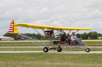 N1879B @ KOSH - Taxying for departure, AirVenture 2018 - by alanh