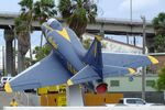 142675 - Douglas A-4B Skyhawk at the USS Lexington Museum, Corpus Christi TX