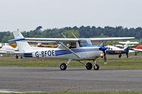 G-BFOE @ EGLK - G-BFOE    R/Cessna F.152 [1475] (Redhill Air Services Ltd) Blackbushe~G 02/05/2015