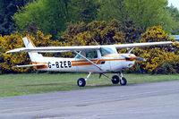 G-BZEB @ EGLK - G-BZEB   Cessna 152 [152-82772] Blackbushe~G 02/05/2015