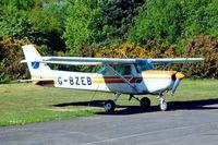 G-BZEB @ EGLK - G-BZEB   Cessna 152 [152-82772] Blackbushe~G 04/08/2018