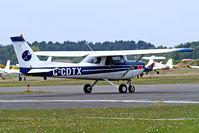 G-CDTX @ EGLK - G-CDTX   R/Cessna F.152 [1662] Blackbushe~G  02/05/2015