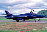 XF967 @ EGQS - XF967   Hawker Hunter T.8B [HABL003122] (Royal Air Force) RAF Lossiemouth~G @ 1991