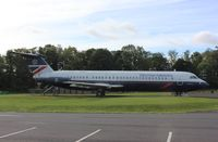 G-AVMO - BAC 111-510ED at the National Museum of Flight