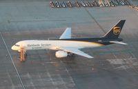 N458UP @ KRFD - Boeing 757-24APF - by Mark Pasqualino