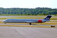 OY-KGZ @ ESSA - OY-KGZ   McDonnell-Douglas DC-9-81 (MD81) [49381] (SAS Scandinavian Airlines) Stockholm-Arlanda~SE 06/06/2008