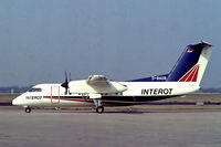 D-BAGB @ EDMA - D-BAGB   De Havilland Canada DHC-8-106 Dash 8 [306] (Interot Airways) Augsburg~D 10/09/1993