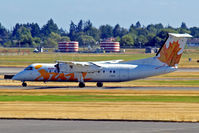 C-GETA @ CYVR - C-GETA   de Havilland Canada DHC-8-301 Dash 8 [186] (Air Canada Jazz) Vancouver Int'l~C 21/07/2008