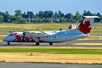 C-FACV @ CYVR - C-FACV   de Havilland Canada DHC-8-311A Dash 8 [278] (Air Canada Jazz) Vancouver Int'l~C 21/07/2008