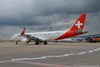 HB-JVM @ EDDL - Embraer ERJ-190LR 190-100LR - 2L OAW Helvetic Airways - 19000349 - HB-JVM - 04.07.2016 - DUS