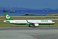 B-16215 @ ROAH - B-16215   Airbus A321-211(SL) [6488] (EVA Air) Okinawa-Naha~JA 30/10/2015 - by Ray Barber