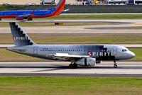 N509NK @ KATL - N509NK   Airbus A319-132 [2603] (Spirit Airlines) Atlanta-Hartsfield Int'l~N 30/03/2017