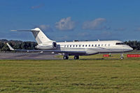 N999YY @ EGPH - N999YY   Bombardier BD-700-1A10 Global Express XRS [9240] Edinburgh-Turnhouse~G 01/10/2014