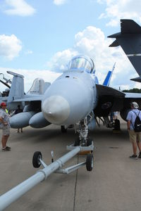 165801 @ OSH - Boeing F/A-18F Super Hornet, c/n: 1533, BuNu 165801 - by Timothy Aanerud